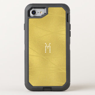 Gemustertes Imitat-Gold - OtterBox Apple iPhone OtterBox Defender iPhone 8/7 Hülle