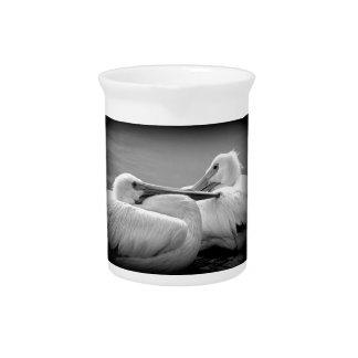 Gemütlich Pelikane 2 Getränke Pitcher