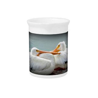 Gemütlich Pelikane Getränke Pitcher