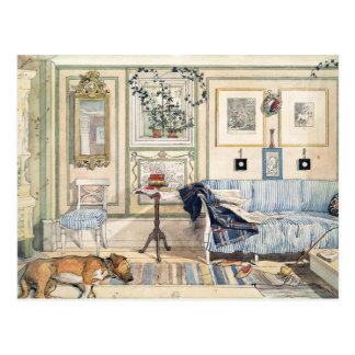 Gemütliche Ecke durch Carl Larsson Postkarte