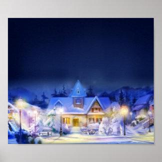 Gemütliches Weihnachten Poster