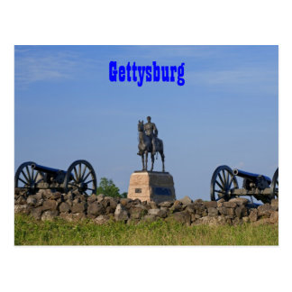 Gen. Meade an Gettysburg-Postkarte