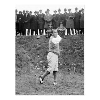 Gen Sarazen 1922 Postkarten