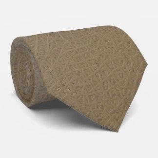 Genäht Krawatte