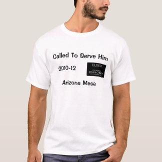 Genannt, um ihm - Auftrag-Shirt des Ältesten zu T-Shirt