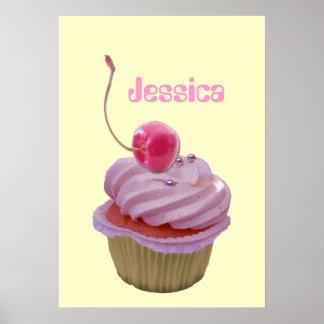 Genanntes Plakat Cupcake Gift