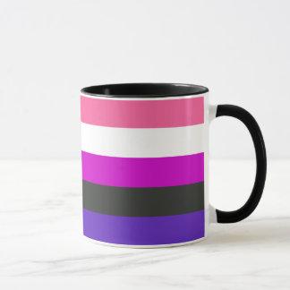 Genderfluid Stolz-Flagge Tasse