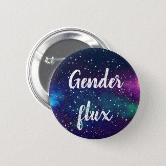 Genderflux kundengerechte Galaxie-Identität Runder Button 5,1 Cm