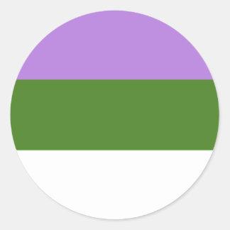 Genderqueer Aufkleber