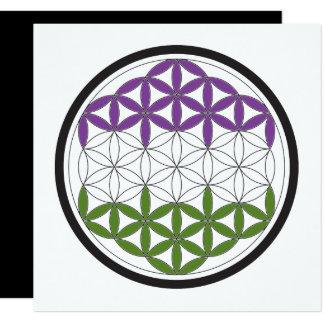 genderQueer heilige Geometrie Karte