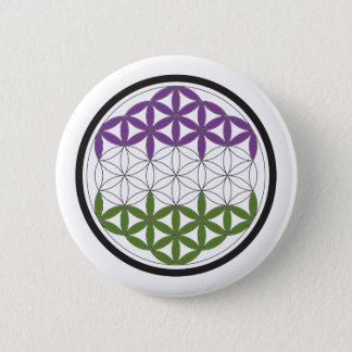 genderQueer heilige Geometrie Runder Button 5,1 Cm