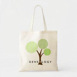 Genealogie-wunderliches gemustertes tragetasche