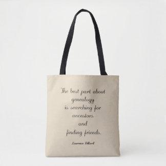 Genealogie-Zitat-Taschen-Tasche Tasche