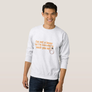 genehmigt, um Sie heraus zu klopfen medizinisches Sweatshirt