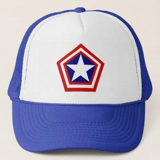 General Amerika Truckerkappe
