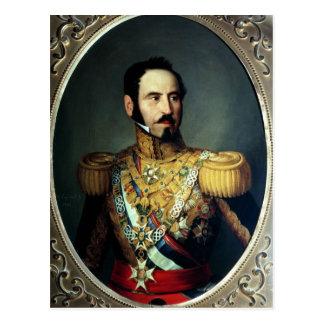 General Baldomero Espartero, 1842 Postkarte