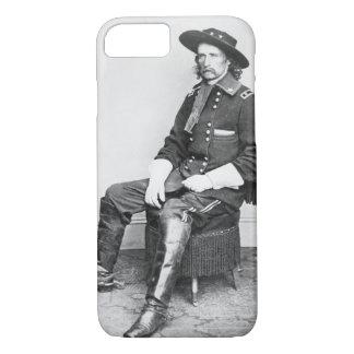 General George A. Custer (b/w Foto) iPhone 8/7 Hülle