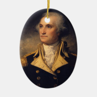 General George Washington Keramik Ornament