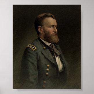 General Grant - amerikanischer ziviler Krieg Poster