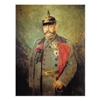 General Paul von Hindenburg, c.1916 Postkarte