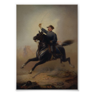General Philip Sheridans Ride Painting Poster