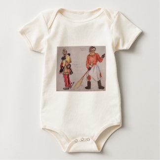 General und Palastträger durch Boris Kustodiev Baby Strampler