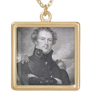 Generalmajor Alexander Macomb (1782-1842), engrav Halskette Mit Quadratischem Anhänger