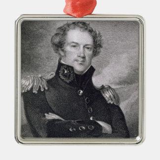 Generalmajor Alexander Macomb (1782-1842), engrav Ornament