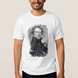 Generalmajor Alexander Macomb (1782-1842), engrav T-shirt