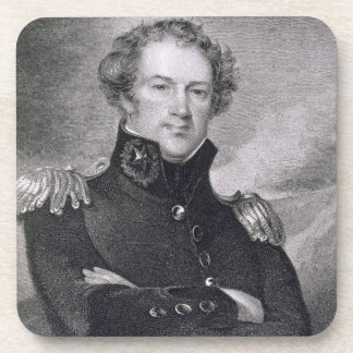 Generalmajor Alexander Macomb (1782-1842), engrav Untersetzer