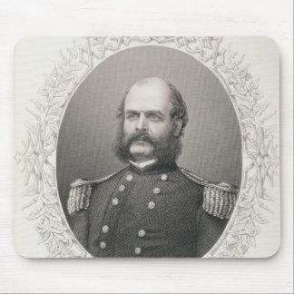 Generalmajor Ambrose Everett Burnside Mousepad