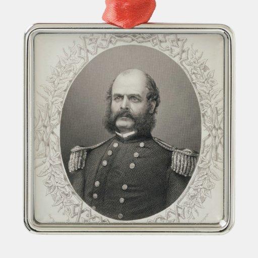 Generalmajor Ambrose Everett Burnside Weinachtsornamente