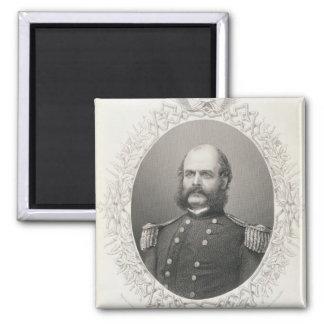 Generalmajor Ambrose Everett Burnside Quadratischer Magnet