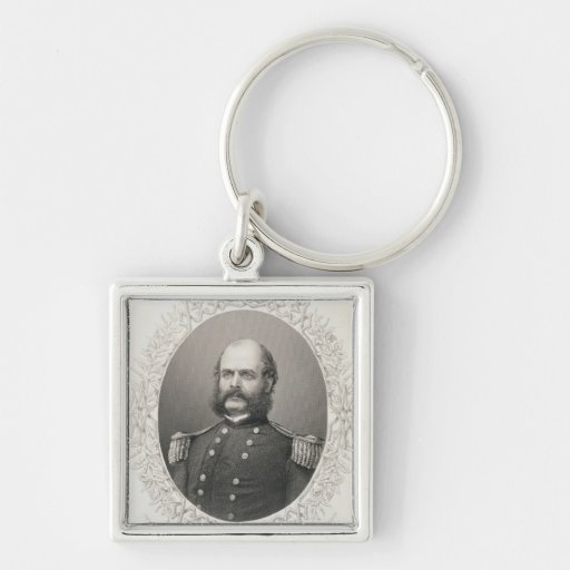 Generalmajor Ambrose Everett Burnside Schlüsselanhänger