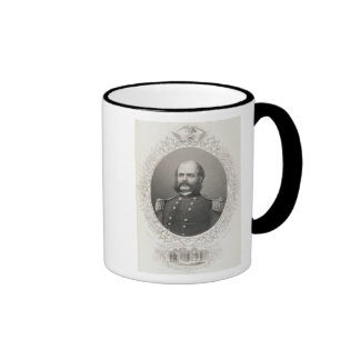 Generalmajor Ambrose Everett Burnside Teetassen