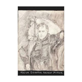Generalmajor Andrew Jackson Gespannte Galerie Drucke