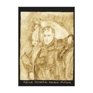 Generalmajor Andrew Jackson Leinwand Druck