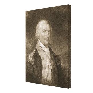 Generalmajor-Arthur-St. Clair, graviert von Edward Gespannte Galerie Drucke