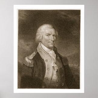Generalmajor-Arthur-St. Clair, graviert von Edward Poster