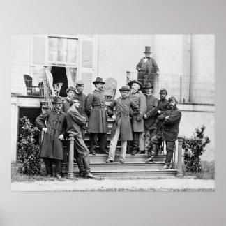 Generalmajor E.O.C. Ord: 1861 Poster