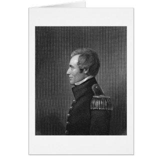 Generalmajor Edmund Pendleton Gaines (1777-1849) Grußkarte