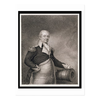 Generalmajor Henry Knox (1750-1806) graviert durch Postkarten