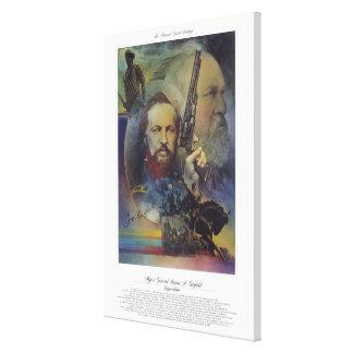 GENERALMAJOR-JAMES- A. GARFIELDbürger-Soldat Gespannter Galeriedruck