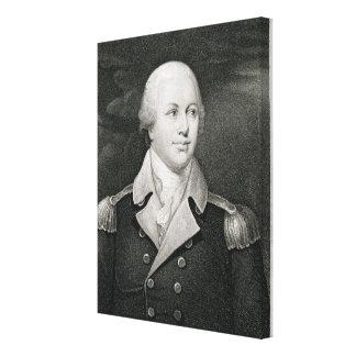 Generalmajor Nathaniel Greene (1742-86), graviert Galerie Gefaltete Leinwand