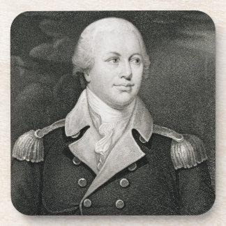 Generalmajor Nathaniel Greene (1742-86), graviert Getränk Untersetzer