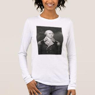 Generalmajor Nathaniel Greene (1742-86), graviert Langärmeliges T-Shirt
