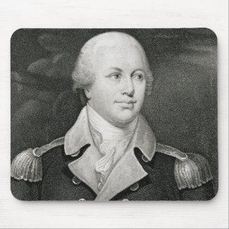 Generalmajor Nathaniel Greene (1742-86), graviert Mauspad