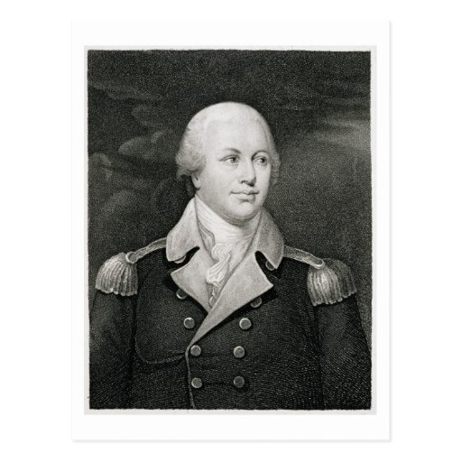 Generalmajor Nathaniel Greene (1742-86), graviert Postkarten