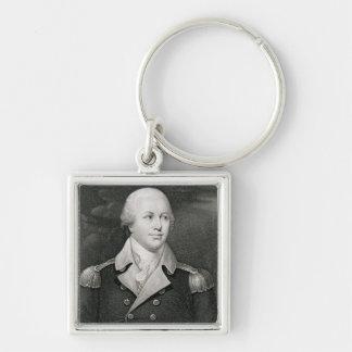 Generalmajor Nathaniel Greene (1742-86), graviert Schlüsselanhänger