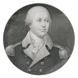 Generalmajor Nathaniel Greene (1742-86), graviert Teller